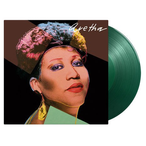 Aretha / limited edition green vinyl LP