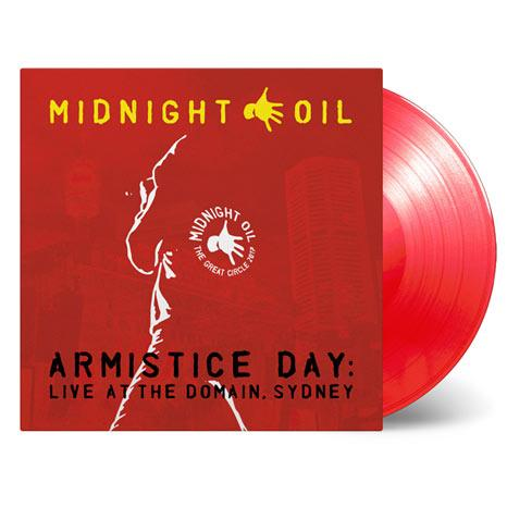 Midnight Oil / Armistice Day: Live at the Domain, Sydney / limited edition 3LP coloured vinyl