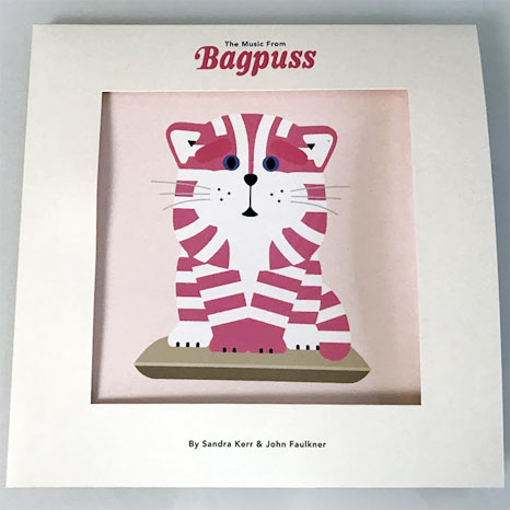 The Music From Bagpuss / Limited 'shop window' deluxe die-cut vinyl LP