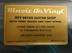"Jeff Beck / ""Jeff Beck's Guitar Shop"" limited edition blue vinyl"