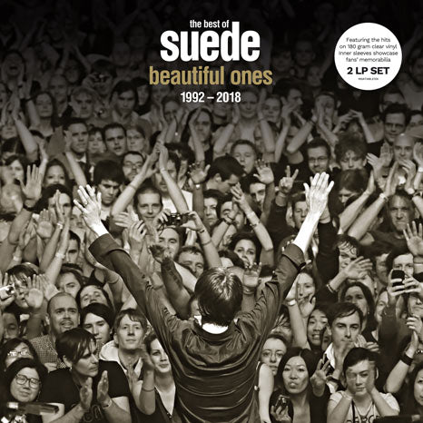 The Best of Suede: Beautiful Ones 2LP clear vinyl indie exclusive