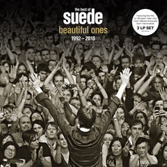 The Best of Suede 2LP indies-only clear vinyl