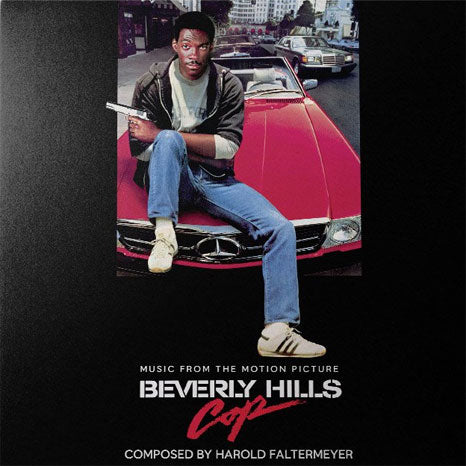 Beverly Hills Cop Soundtrack / Palm Tree Splatter vinyl LP