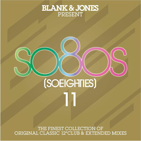 "Blank & Jones present so80s 11 / 2CD set of classic 12"" extended mixes"