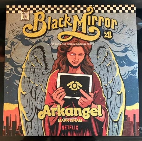 Music from Black Mirror Season 4: Arkangel yellow vinyl LP