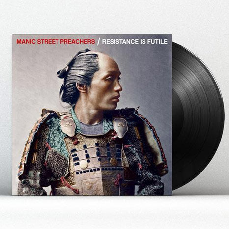 Manic Street Preachers / Resistance is Futile black vinyl LP