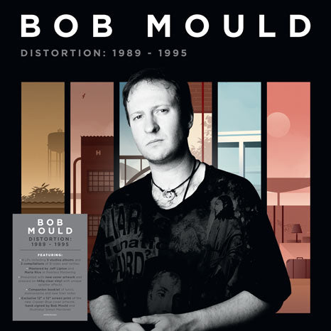 Bob Mould / Distortion 1989 - 1995 8LP coloured vinyl box with SIGNED print