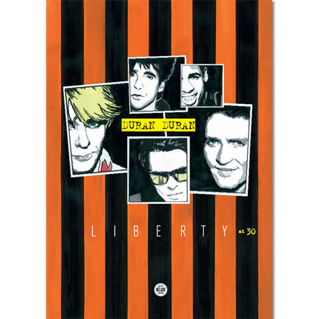 SDE presents... 'DURAN DURAN: Liberty at 30'. Limited edition keepsake booklet
