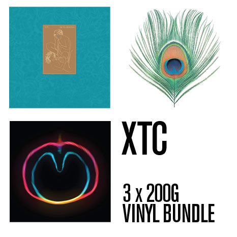 XTC / 3 album bundle: Skylarking + Apple Venus + Wasp Star / all 200g vinyl remasters