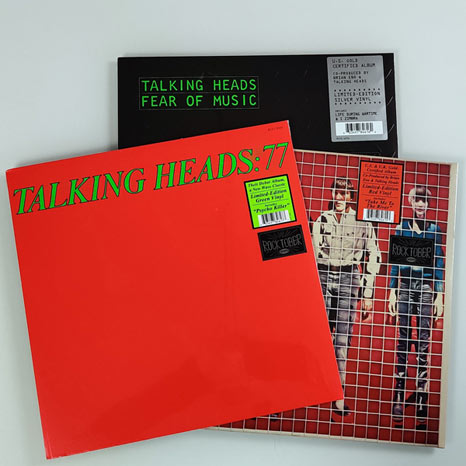 Talking Heads coloured vinyl bundle