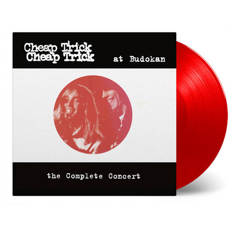 Cheap Trick At Budokan - Complete Concert on limited edition 2LP red vinyl