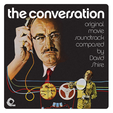 David Shire / Original soundtrack to The Conversation / 140g black vinyl LP