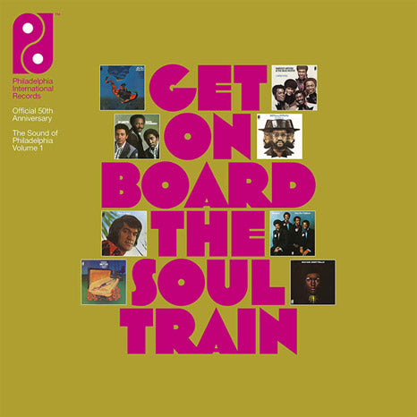Get On Board The Soul Train: The Sound of Philadelphia  Vol 1 / 8CD+12-inch box set