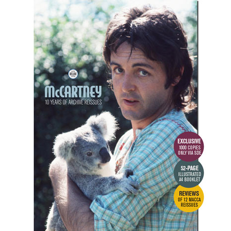 SDE presents... PAUL McCARTNEY: 10 Years of Archive Reissues. Limited keepsake booklet