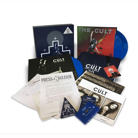 The Cult / Sonic Temple 30th anniversary 3LP+Cassette limited box set