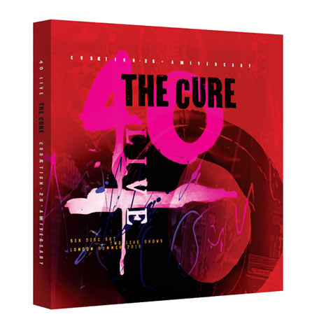 THE CURE: 40 LIVE - CURÆTION-25 + ANNIVERSARY 2 x DVD + 4CD deluxe set