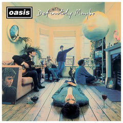Oasis / Definitely Maybe 25th anniversary 2LP silver vinyl