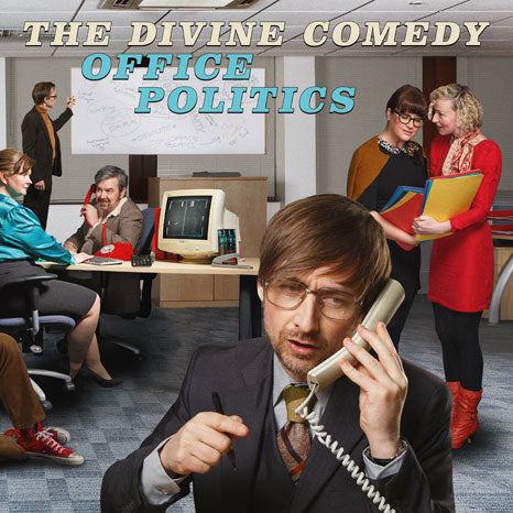 The Divine Comedy / Office Politics 2LP coloured vinyl