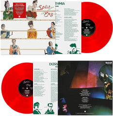 Split Enz / Dizrythmia 180g remastered red vinyl