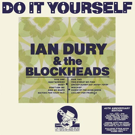 Ian Dury & the Blockheads / Do It Yourself LP+2CD+DVD 40th anniversary deluxe