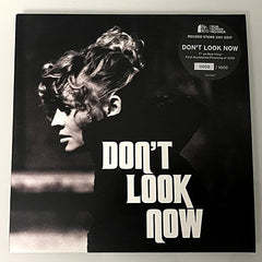 "Don't Look Now / red vinyl 7"" single"