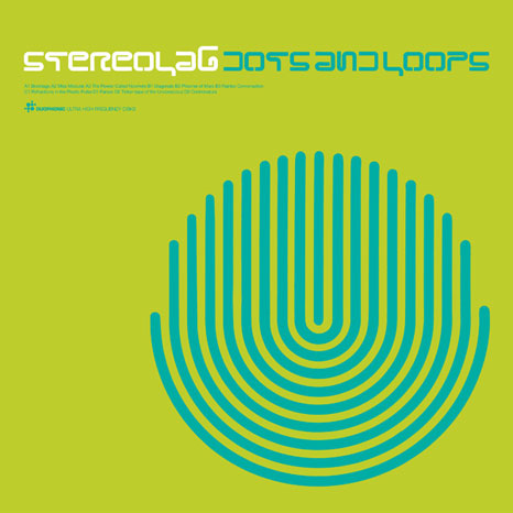 Stereolab / Dots and Loops / 3LP CLEAR vinyl