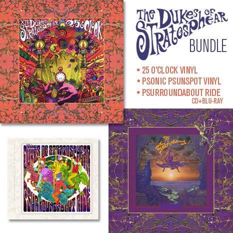 XTC as... Dukes of Stratosphear / 2LP & CD+Blu-ray BUNDLE