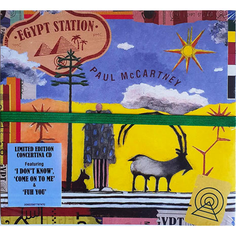 Paul McCartney / Egypt Station limited edition 'concertina' deluxe CD