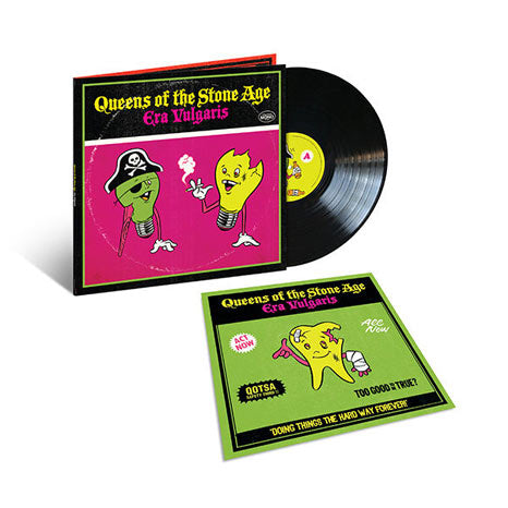 Queens of the Stone Age / Era Vulgaris deluxe vinyl LP