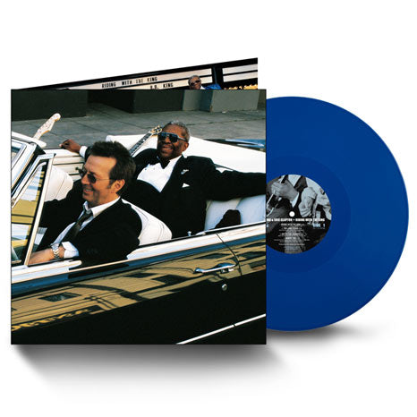 Eric Clapton & B.B. King / Riding With The King 20th anniversary 2LP blue vinyl