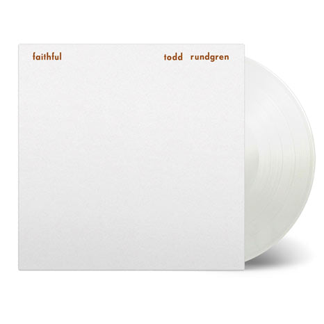 Todd Rundgren / Faithful white vinyl LP