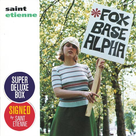 Saint Etienne / Foxbase Alpha 25th anniversary box set / exclusive SIGNED edition