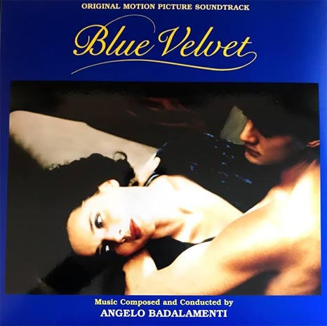 Angelo Badalamenti / Blue Velvet blue/black 'split' coloured vinyl LP