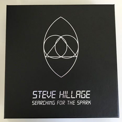 Steve Hillage / Search for the Spark / 22CD box with exclusive SIGNED photo print