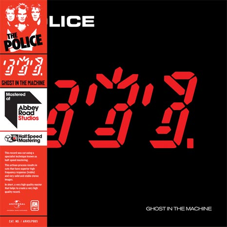 The Police / Ghost in the Machine half-speed mastered vinyl LP
