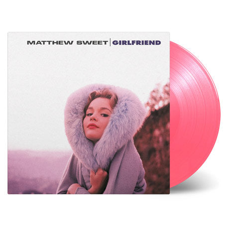 Matthew Sweet / Girlfriend PINK vinyl LP