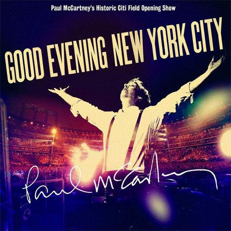 Paul McCartney / Good Evening New York City 2CD + DVD