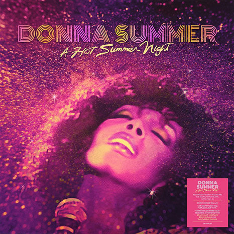 Donna Summer / A Hot Summer Night 2LP coloured vinyl