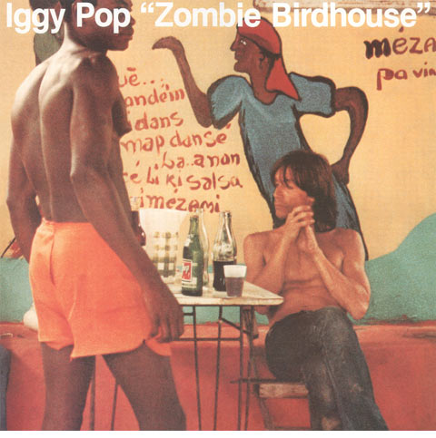 Iggy Pop / Zombie Birdhouse indie-exclusive orange vinyl LP