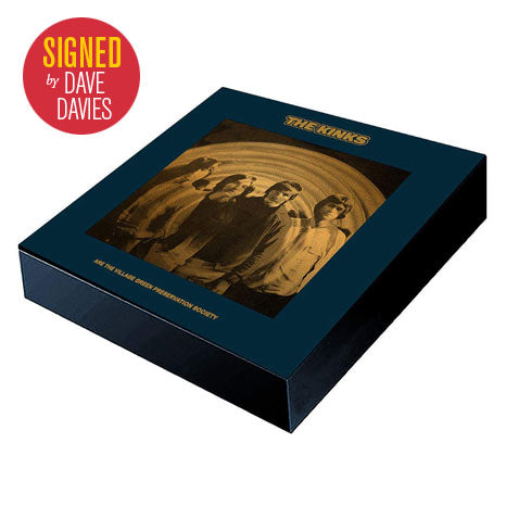 The Kinks Are The Village Green Preservation Society super deluxe edition box set *SIGNED* by Dave Davies