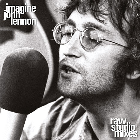 Lennon John / Imagine (Raw Studio Mixes) limited edition RSD black vinyl LP