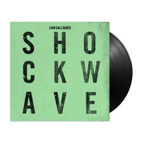 "Liam Gallagher / Shockwave 7"" single with etching"