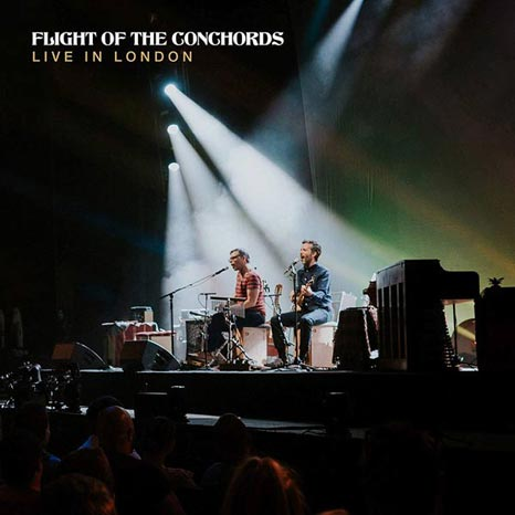 Flight of the Conchords / Live in London 3LP CLEAR vinyl 'loser edition'