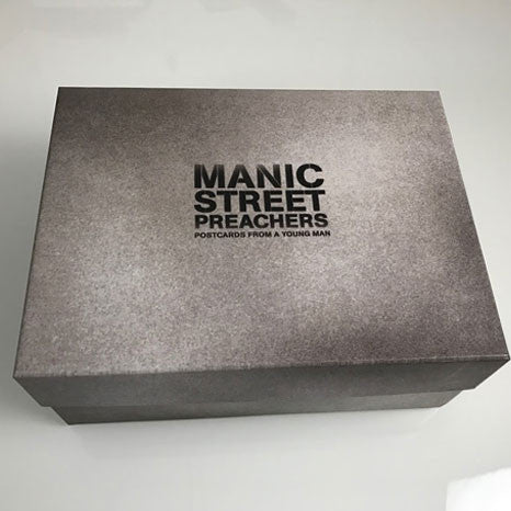 Manic Street Preachers / Postcards From A Young Man super deluxe edition 'mementos' box