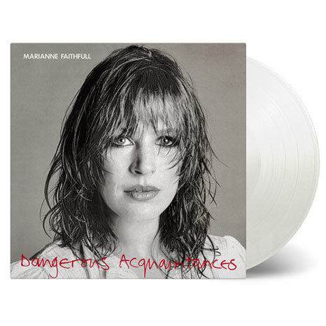 Marianne Faithfull / Dangerous Acquaintances limited vinyl white