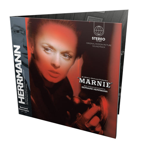 "Bernard Herrmann / Marnie soundtrack 2LP+CD+7"" super deluxe edition + Psycho 7"""