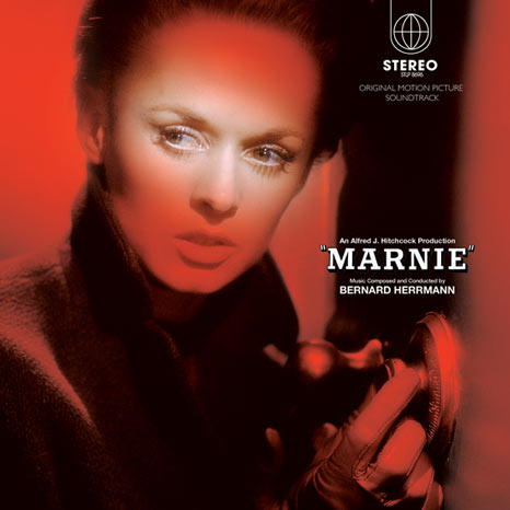"Bernard Herrmann / Marnie soundtrack 2LP RED vinyl+CD+7"" super deluxe edition"