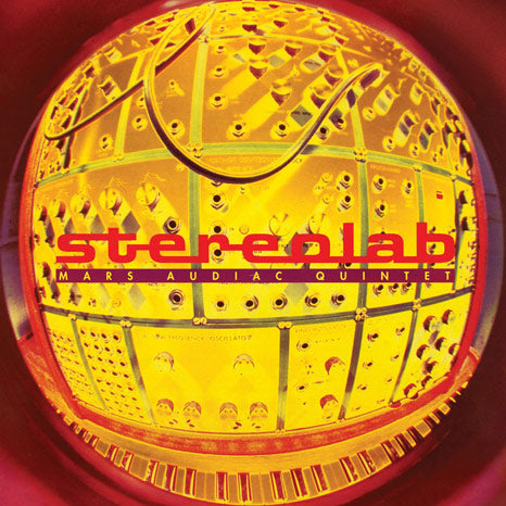 Stereolab / Mars Audiac Quintet / 3LP 'indies-only' CLEAR vinyl