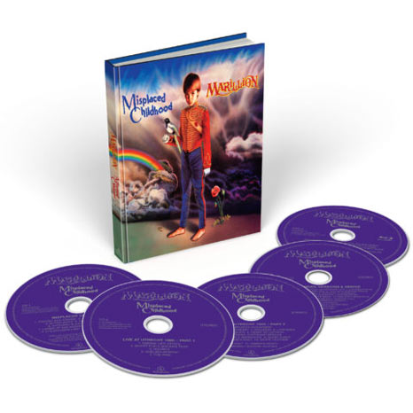 Marillion / Misplaced Childhood deluxe 4CD+blu-ray repress