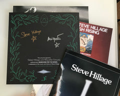 Steve Hillage / Searching For The Spark signed 22CD box set